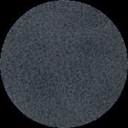 Dieses Bild zeigt ein runde Kunstledermuster in der Farbe anthrazit.